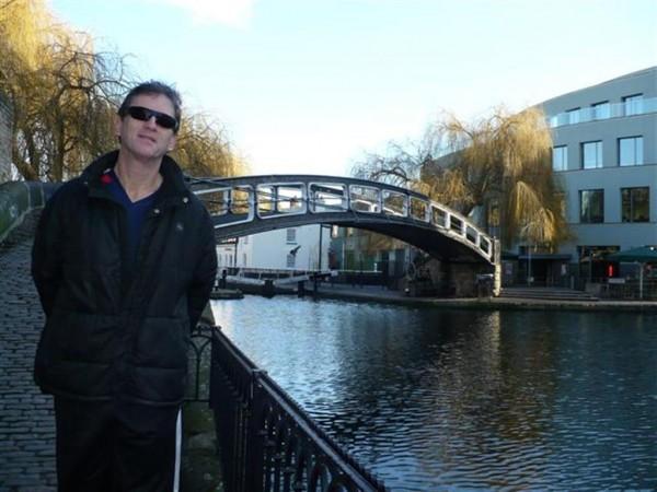 By Camden Lock Bridge