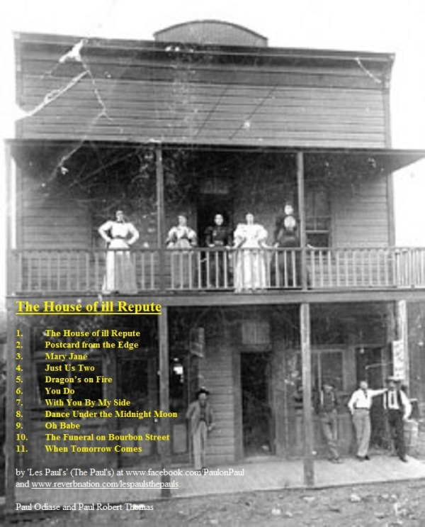 The House of ill Repute album cover