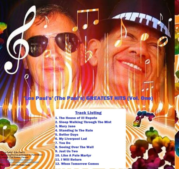 Back Cover Greatest Hits Album