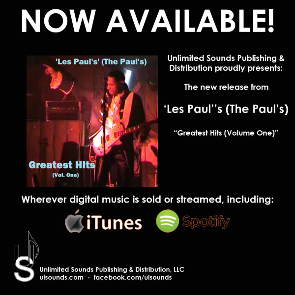 Les Paul's - NOW AVAILABLE
